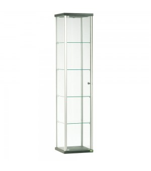 CANALE M/L VITRINE CHROME/ ECLAIREE