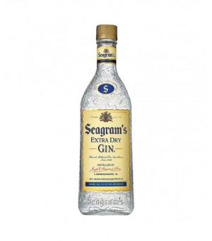 ALCOOLS BOUTEILLE  BOISSONS GIN SEAGRAM BOUTEILLE 70CL