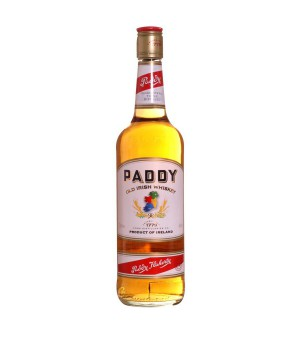 ALCOOLS BOUTEILLE  BOISSONS WHISKY PADDY BOUTEILLE 70CL