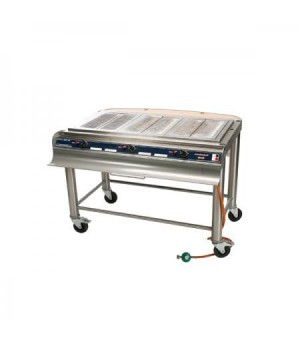 BARBECUE GAZ CUISINE FLORIDA INOX